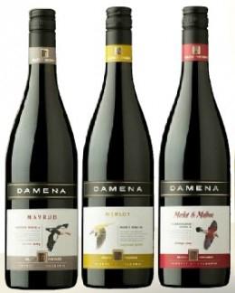 Вино Дамена: мавруд, мерло, малбек